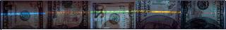 UV fluorescence US dollar