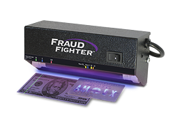 counterfeit detector - mountable