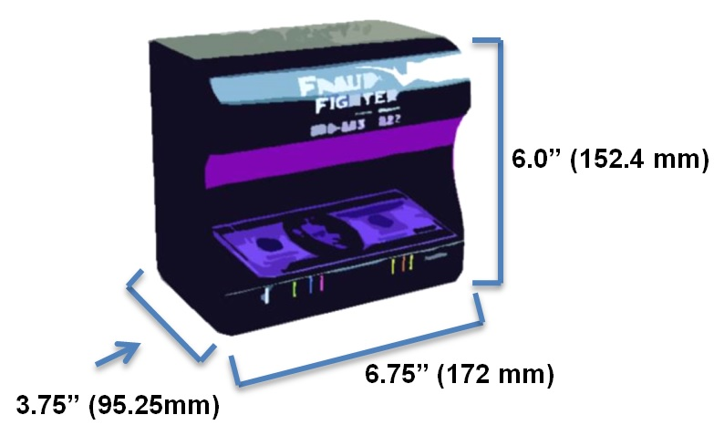 UV 16 Counterfeit Detector