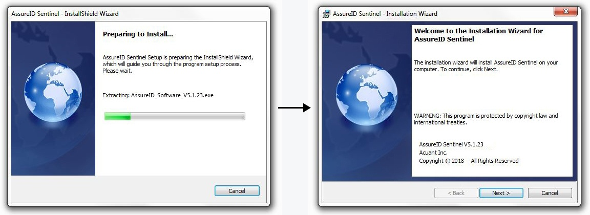 AssureID Software Installation