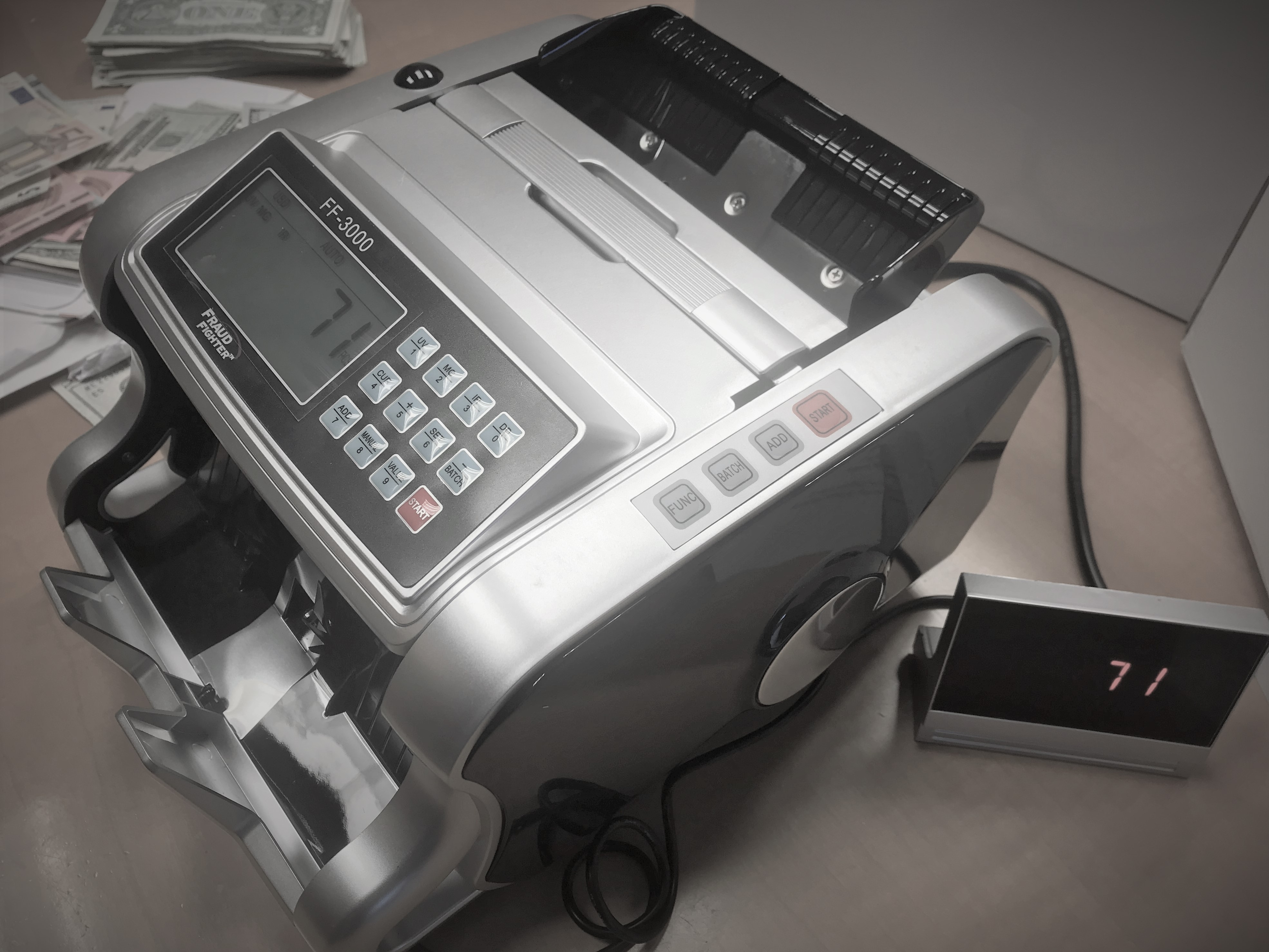 FF-3000 Bill Counter