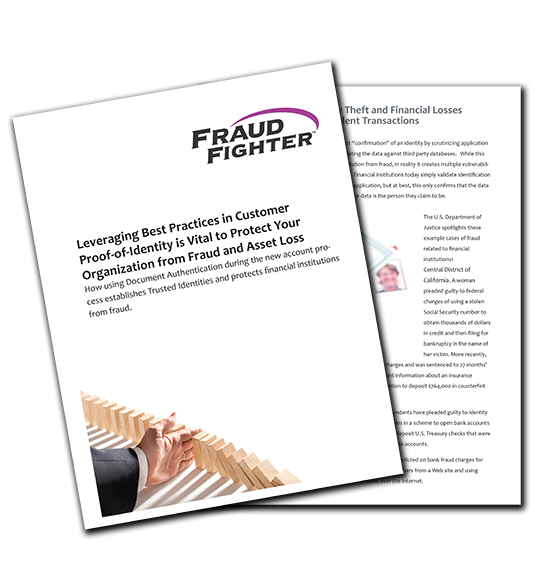 leveraging best practices in customer proof-of-identity whitepaper