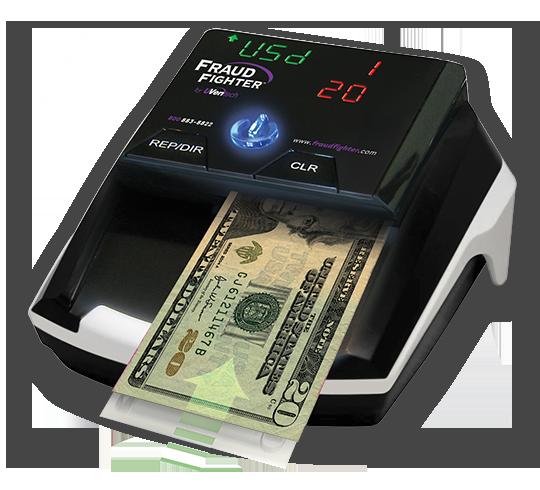 Counterfeit Money Detector Uveritech Fraud Fighter CT550
