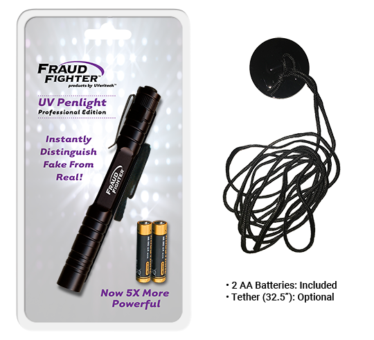 uv propenlight with optional tether