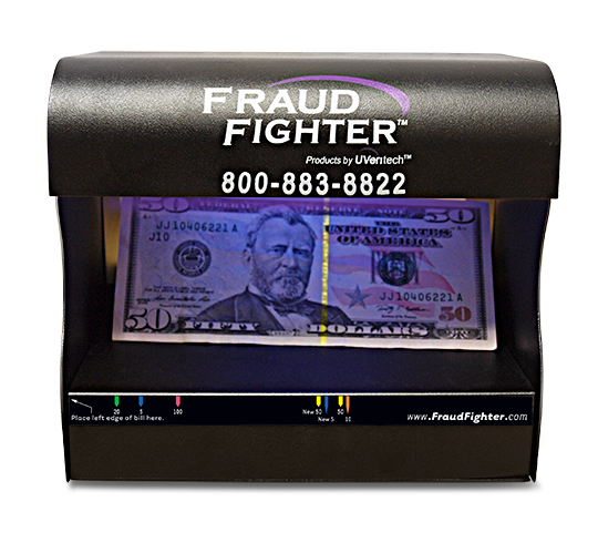 Fraud Fighter Counterfeit Dectection Scanner UV-16