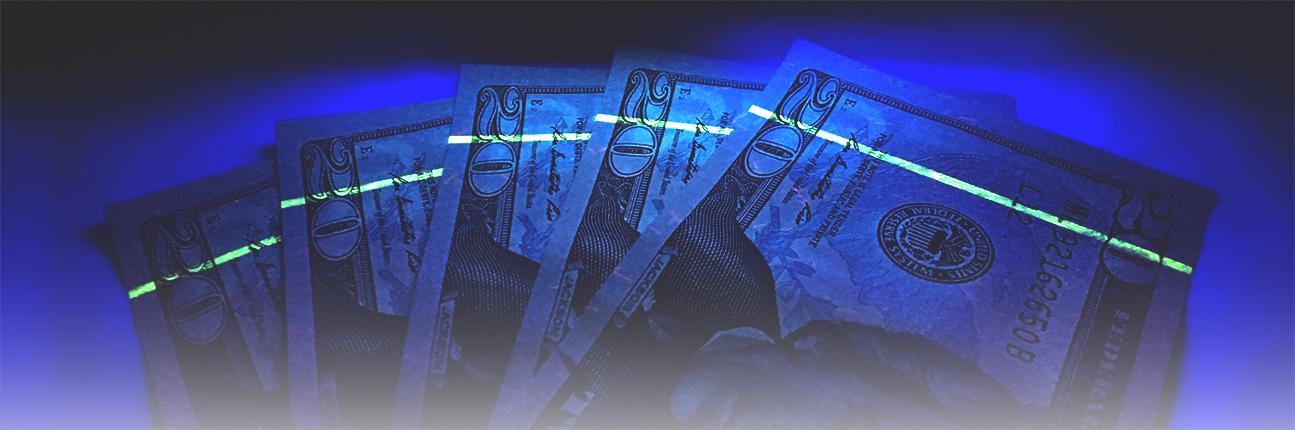 uv counterfeit money detection